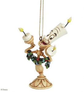 Beauty and the Beast Lumiere Ornament
